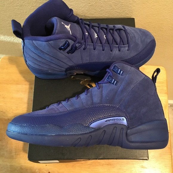 check out e1527 2a373 Jordan Retro 12 Royal Blue NWT